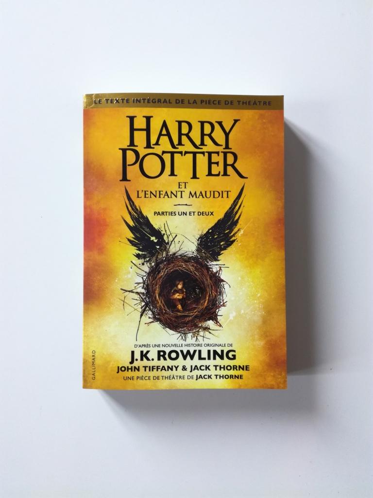Avis Harry Potter et l'enfant maudit