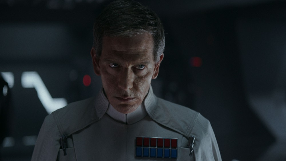 Rogue One: A Star Wars Story..Director Krennic (Ben Mendelsohn)..Ph: Film Frame ILM/Lucasfilm..©2016 Lucasfilm Ltd. All Rights Reserved.