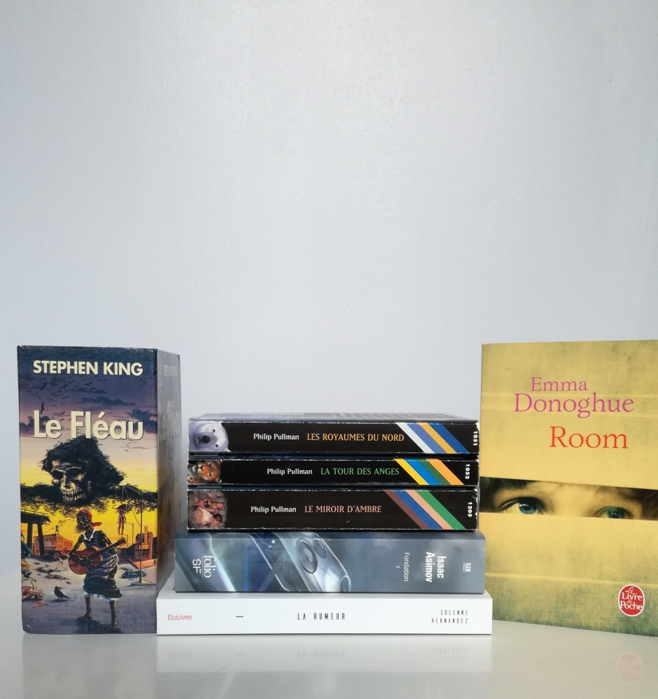 Top 5 année 2016 lecture tomabooks