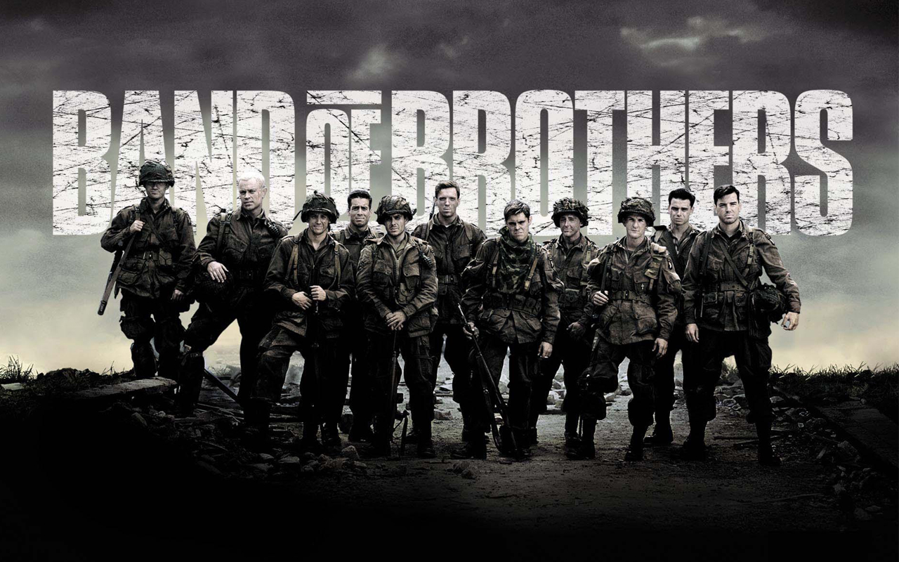 band of brothers top5 serieTV tomabooks