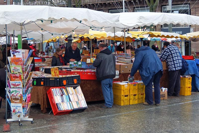 vendeur livre strasbourg plac kleber