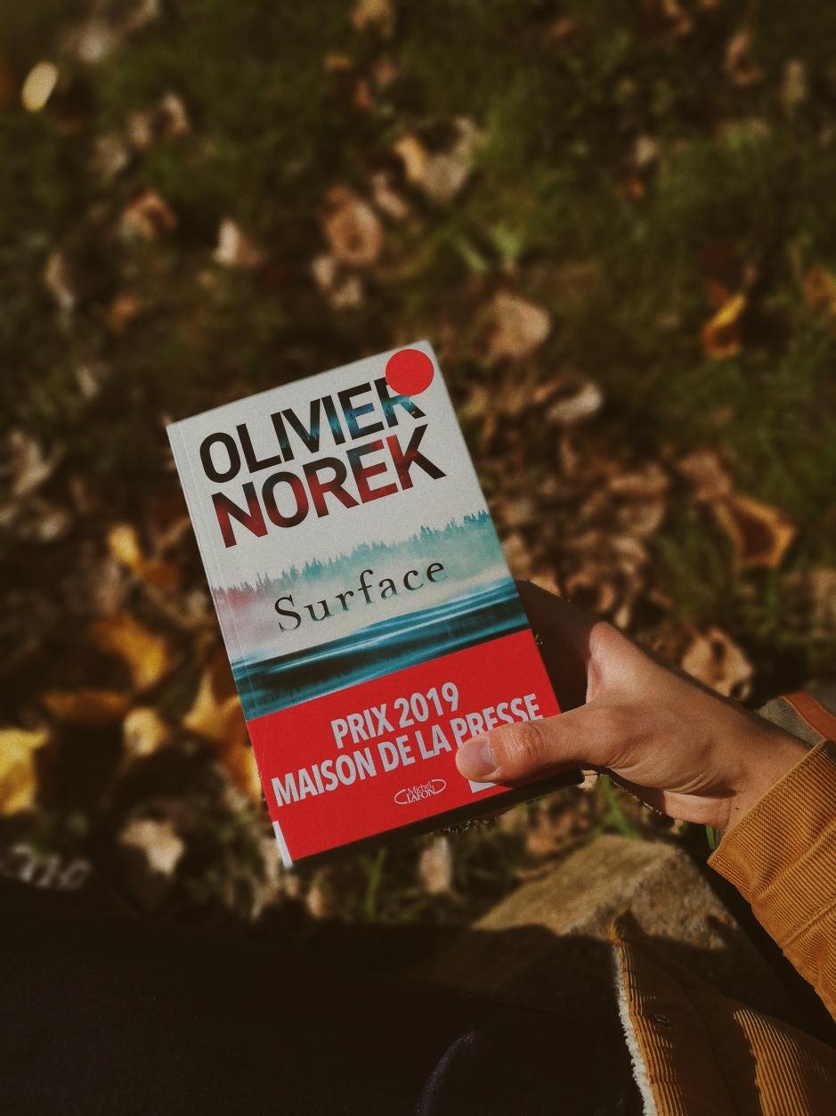 avis sur surface d'olivier norek