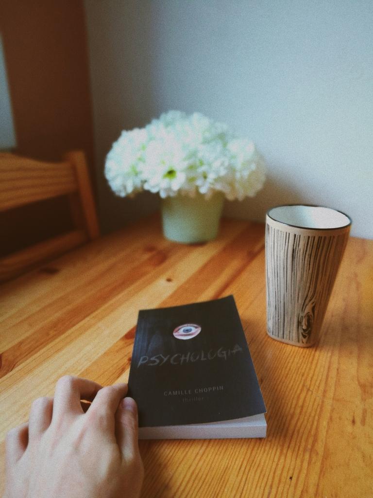 avis sur le roman Psychologia de Camille Choppin